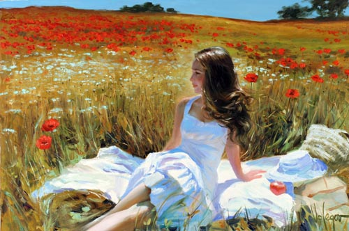 VG-941-PICNIC-AMONG-POPPIES