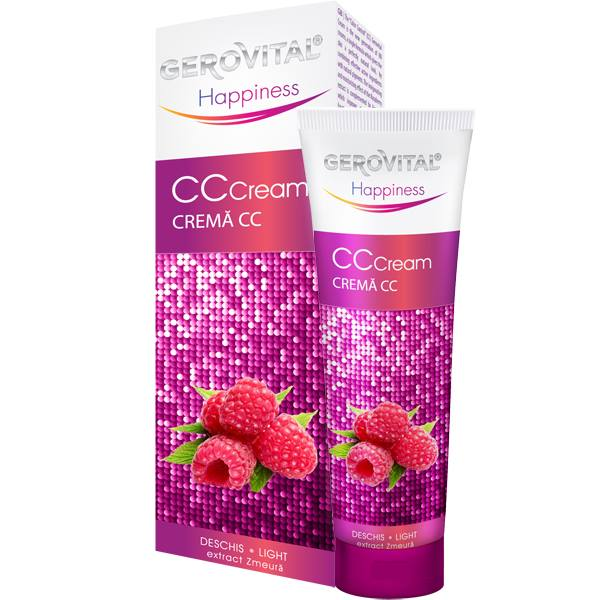 gerovital happiness cc cream nuante